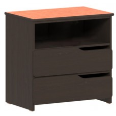 "Apollo 2 Drawer Chest w/Top Storage Shelf, 30""W"