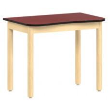 Aero Contour Study Desk, 36″W