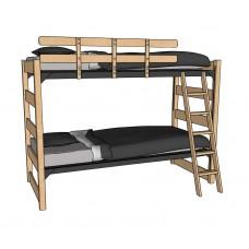 "60""H Bunk Bed"