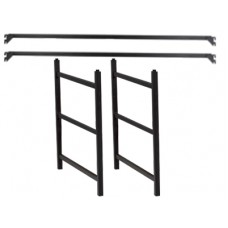 Loft Kit for Contempo Metal Bed w/Horizontal Rails