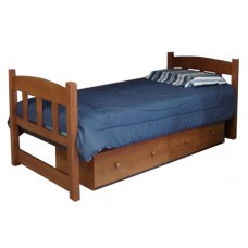 Pediment Style Smart Bed