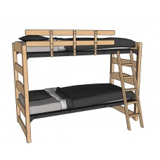 """60""""H Sedona Style Bunk Bed"""