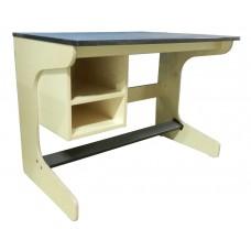 Aero Cantilever Study Desk w/2 Storage Compartments, 42″W