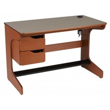 "Apollo Cantilever Study Desk w/2 Drawers, 42""W"