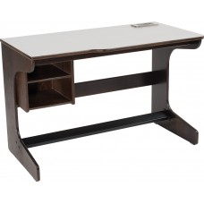 "Apollo Cantilever Study Desk w/2 Storage Compartments, 45""W"