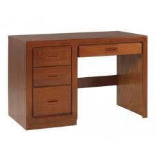 "Beachcomber Panel End Pedestal Desk w/2 Boxes, 1 File Drawer & Pencil Drawer, 42""W"