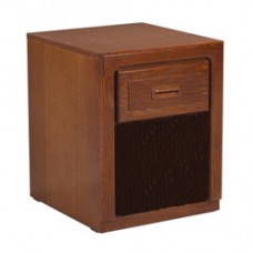 Beachcomber Nightstand w/Top Drawer & Open Compartment