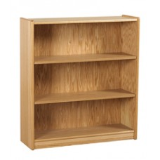 Beachcomber Bookcase w/1 Fixed  Shelf & 2 Adjustable Shelves
