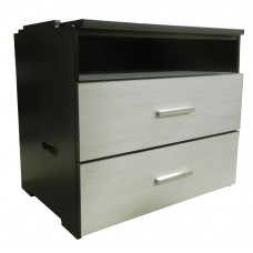 "Contempo 2 Drawer & Top Open Compartment Stackable Chest, 30""W"