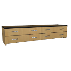 Contempo 4 Drawer Under Bed Unit