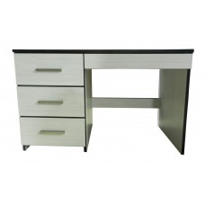 "Contempo Panel End Pedestal Desk w/3 Box Drawers & Pencil Drawer, 42""W"