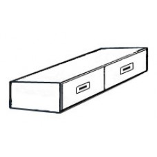 Contempo 2 Drawer Under Bed Unit - Side by Side