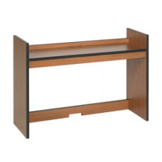 "Contempo Single Shelf Carrel w/Open Back, 36""W"