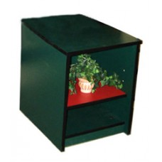 Contempo Desk Pedestal w/2 Open Compartments