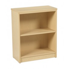 Contempo Bookcase w/1 Fixed Shelf & 1 Adjustable Shelf