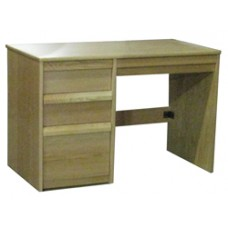 "Homestead Panel End Pedestal Desk w/2 Box Drawers, 1 File Drawer & Pencil Drawer, 45""W"