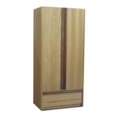 "Homestead Double Door Wardrobe w/1 Bottom Drawer, Interior Shelf & Clothes Rod, 36""W, 78""H"