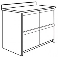 "Homestead Media Cabinet w/4 Drawers, 36""W"