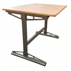"Metal Cantilever Study Desk, 45""W"