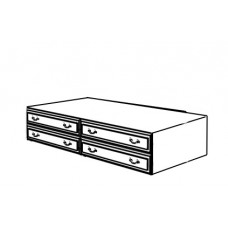 "Madison 4 Drawer Under Bed Unit, 81""W"