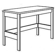 """Madison Open Leg Study Desk w/Pencil Drawer, 36""""W"""