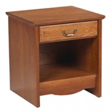 Madison Nightstand w/Top Drawer & Open Compartment