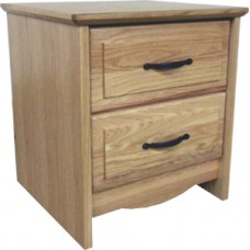 Madison Nightstand w/Two Equal Drawers