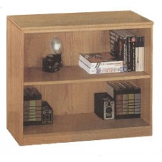 Madison Freestanding Bookcase w/1 Fixed Shelf & 1 Adjustable Shelf