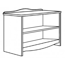 "Madison Media Stand w/2 Fixed Shelves, 42""W"