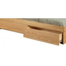 "Nittany 2 Drawer Under Bed Unit - Side by Side, 60""W"
