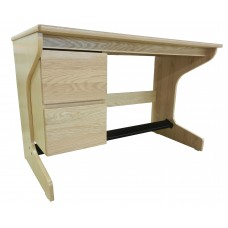 "Nittany Cantilever Study Desk w/2 Drawers, 42""W"
