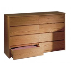"Nittany Dresser, 8 Drawers, 4 Side by Side, 60""W"
