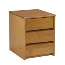 Nittany Desk Pedestal w/3 Equal Size Drawers
