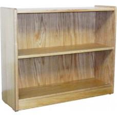 "Nittany Bookcase w/1 Fixed Shelf & 1 Adjustable Shelf, 30""H"