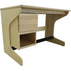 "Nittany Cantilever Study Desk w/1 Open Compartment  1 Drawer, 42""W"
