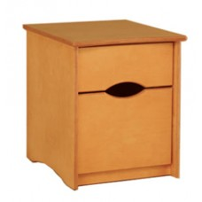 Sedona Desk Pedestal w/1 Box & 1 File Drawer