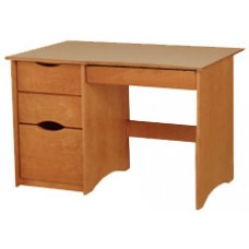 "Sedona Panel End Pedestal Desk w/2 Boxes Drawers, 1 File Drawer & Pencil Drawer, 42""W"