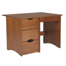 "Sedona Panel End Pedestal Desk w/3 Equal Drawers & Pencil Drawer, 42""W"