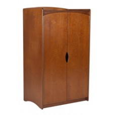 "Sedona Double Door Wardrobe w/Interior Shelf & Clothes Rod, 36""W, 60""H"