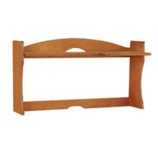 """Sedona Single Shelf Carrel w/Open Back, 36""""W"""