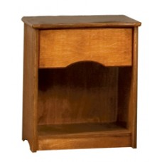 Sedona Nightstand w/Top Drawer & Open Compartment Below