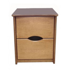 Sedona Nightstand w/2 Equal Size Drawers