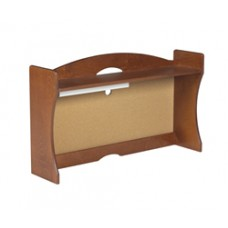 "Sedona Single Shelf Carrel w/Closed Back, 36""W"