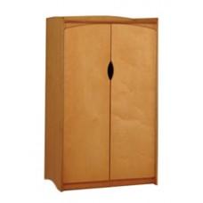 "Sedona Double Door Wardrobe w/Interior Shelf & Clothes Rod, 30""W, 60""H"