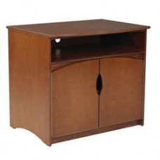 Sedona Media Stand w/2 Doors, Shelf Behind Doors & Top Shelf