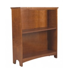 "Shaker Bookcase w/1 Fixed Shelf & 1 Adjustable Shelf, 30""H"