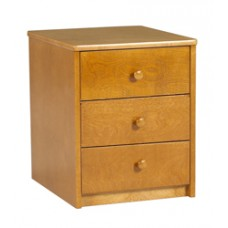 Shaker Desk Pedestal w/Three Equal Drawers