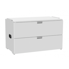 "Urban 2 Drawer Stackable Chest, 36""W"