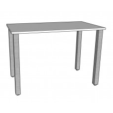 "Urban 36"" Study Desk with Open Legs"