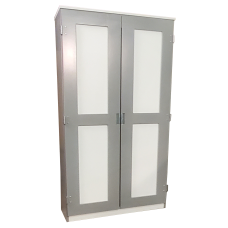 """Urban Deluxe Double Door Wardrobe, 36""""W"""